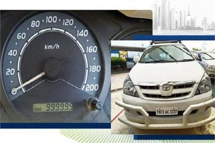 meet toyota innova that has done more than 10 lakh kms