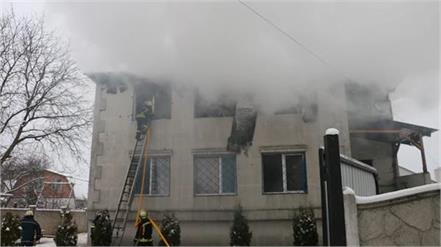 15 die in ukraine nursing home fire