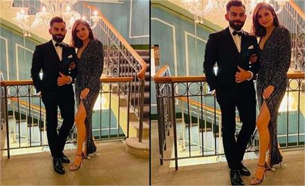 anushka sharma wore costly sandals and gown for new year party