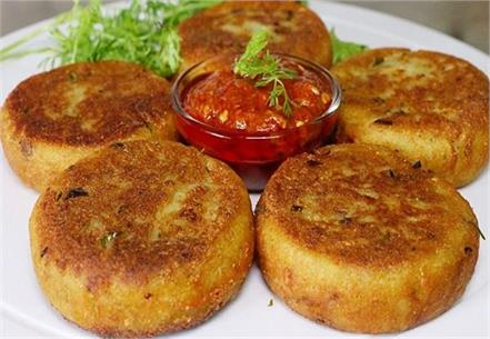 cold  hot  aloo tikki   recipe  taste