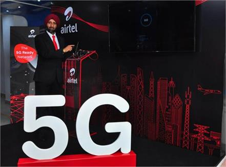 airtel announces 5g ready network