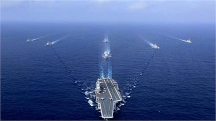 us sends aircraft carrier group in south china sea amid china taiwan tension