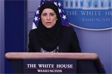 sameera fazli  a kashmiri woman wearing hijab in biden administration