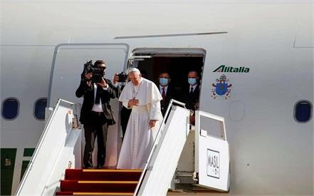pope francis  iraq tour