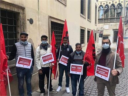 italy  agricultural workers  demands