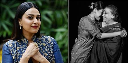 swara bhaskar mother tested corona positive