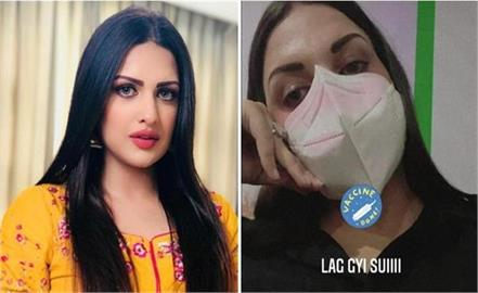 himanshi khurana gets her first covid 19