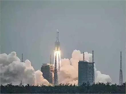 china  uncontrollable rocket  indian ocean