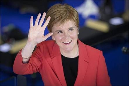 scotland election  nicola sturgeon  wins