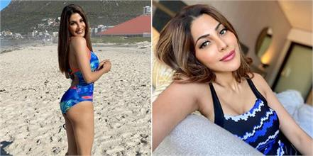 nikki tamboli hot pics from cape town
