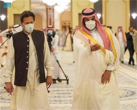 saudi prince  india and pakistan  talks