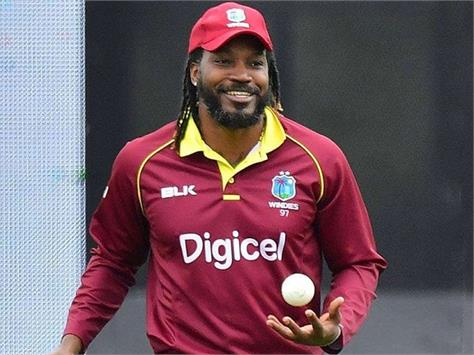 chris gayle made the announcement  will play here in the last match