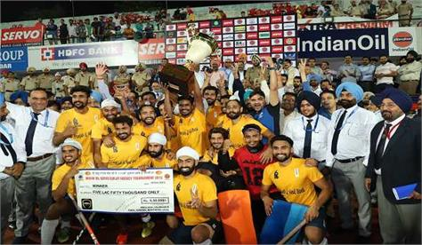 punjab   singh bank 12th time champions