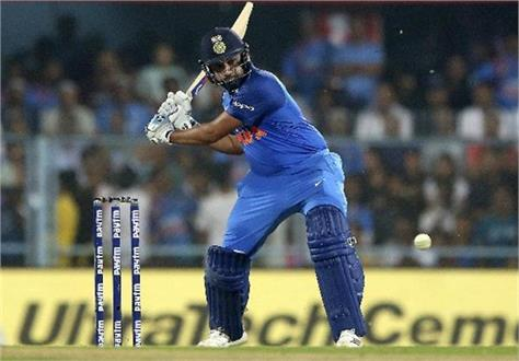 rohit s name will be a big record when he launches two sixes