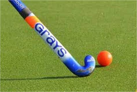 indian women hockey team engaged in training