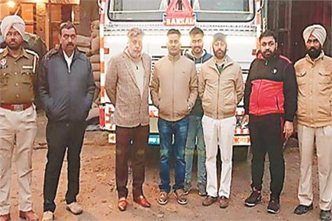 illegal liquor recovered  case against three accused