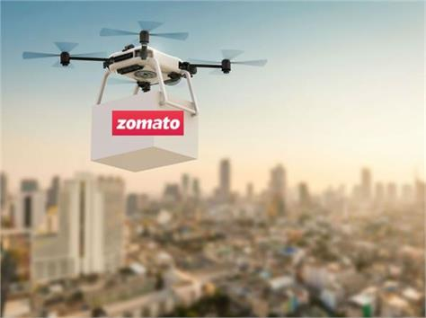 zomato will now deliver food your home the drone