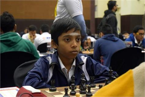 pragyananda became the world  s second youngest grandmaster