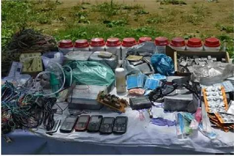 two terrorists arrested in pulwama