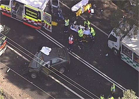 two car crash in new south wales central coast