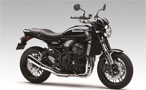 kawasaki india has introduced the z900rs in a new black colour