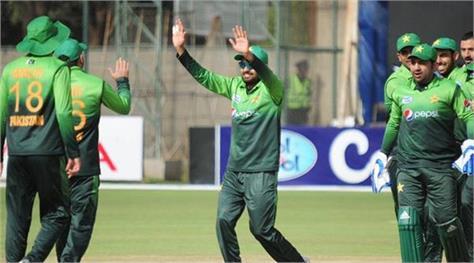 pakistan won by winning zimbabwe by 67 runs