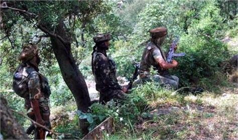 terrorists entered to indian border through p o k