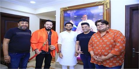 salman khan bodyguard shera joins shiv sena