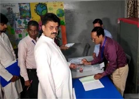 haryana assembly elections booth voting