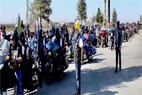 united states seventh annual bike rally sikh riders