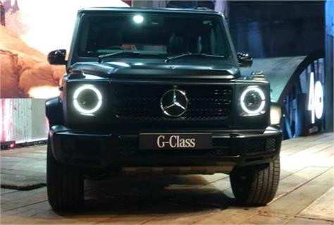 mercedes benz g class suv launched in india