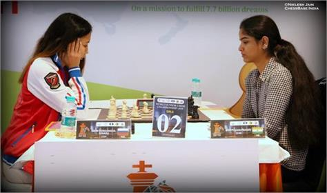 india s priyanka and arpita share a joint lead in the world junior chess c ship