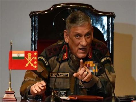 destroy 3 terrorist camp in pok army chief said we not stop