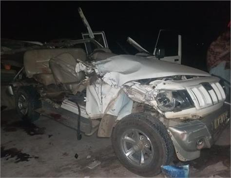 4 persons death due to road accident