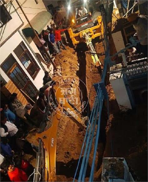 khanna sewerage work 2 workers dead