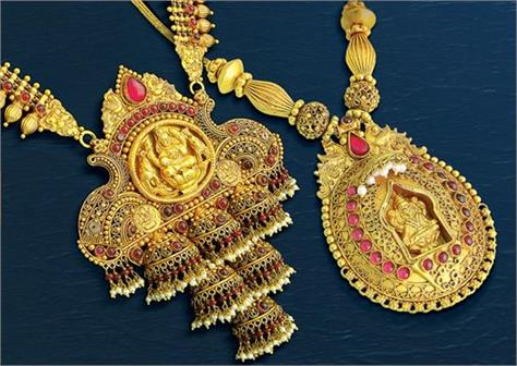 gold shines 40 paisa  silver stable