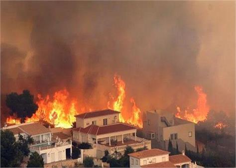 spain  fire at 50 places