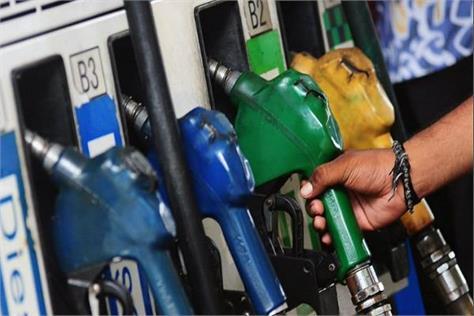 petrol and diesel prices in delhi