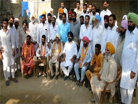 congress worker  join akali dal