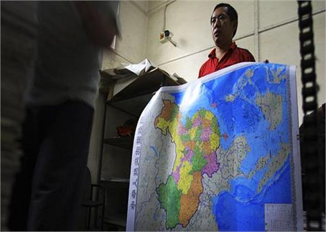 china 30 000 maps