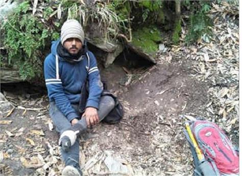 trekking delhi youth missing in himachal found
