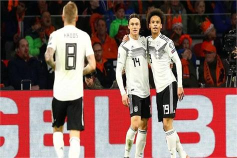 euro 2020 qualifiers  netherlands  germany