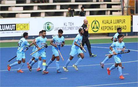 india defeated japan in the opening match of ajlan shah