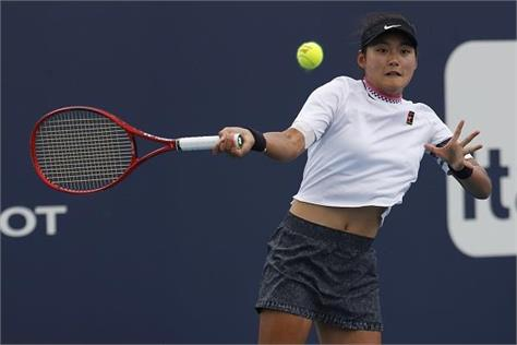chinese player beat kallis at miami