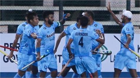 hockey  india will be aiming to win against malaysia