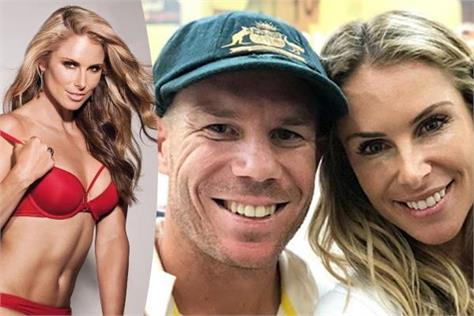 match against australia warner s wife s hot pictures before the match viral