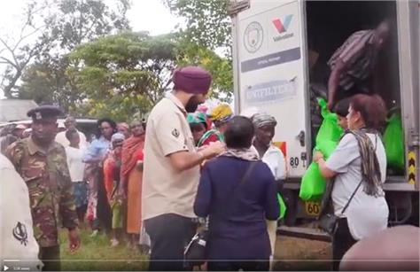 kenya sikh community extracted the ration of the 550 year old gurpurab