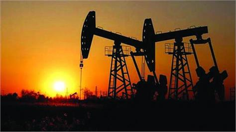 crude oil eased  gold