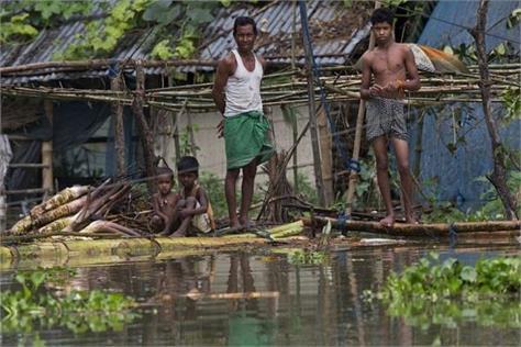 1 000 families affected  floods  mizoram  number  people killed 5