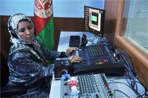 afghanistan  the radio station used to play only women  due to this